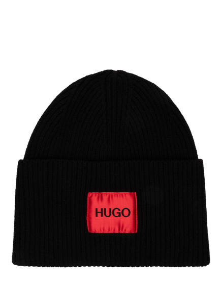 HUGO Mütze XAFF, Farbe: SCHWARZ (Bild 1)