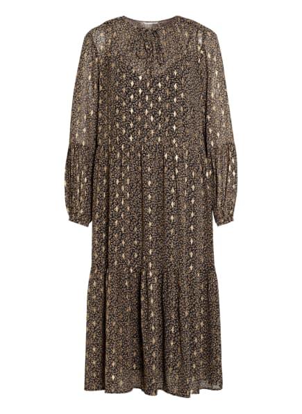 summum woman Kleid , Farbe: SCHWARZ/ BEIGE/ GOLD (Bild 1)