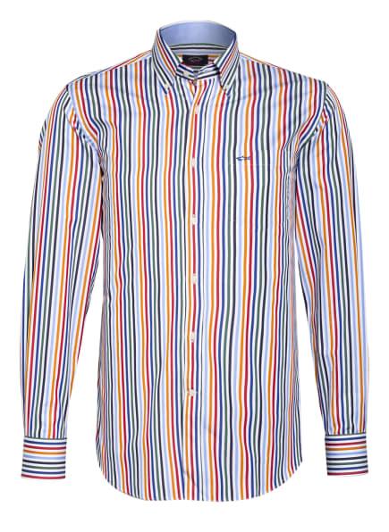 PAUL & SHARK Hemd Regular Fit, Farbe: WEISS/ BLAU/ ROT (Bild 1)
