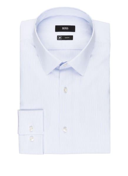 BOSS Hemd ISKO Slim Fit, Farbe: WEISS/ HELLBLAU (Bild 1)