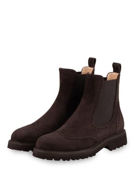 UNÜTZER Chelsea-Boots, Farbe: DUNKELBRAUN (Bild 1)
