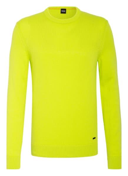 BOSS Pullover, Farbe: NEONGRÜN (Bild 1)