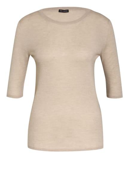 IRIS von ARNIM Kurzarm-Pullover aus Cashmere , Farbe: CREME (Bild 1)