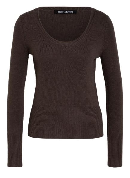 IRIS von ARNIM Cashmere-Pullover KATE, Farbe: BRAUN (Bild 1)