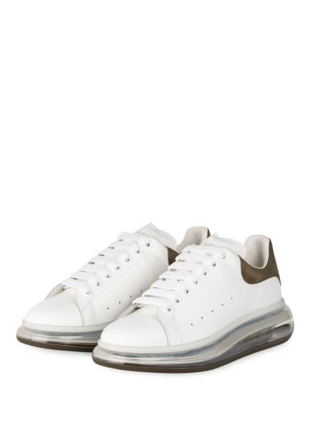 ALEXANDER McQUEEN Sneaker, Farbe: WEISS/ KHAKI (Bild 1)