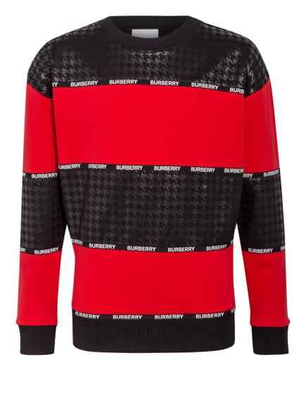 BURBERRY Sweatshirt, Farbe: SCHWARZ/ ROT (Bild 1)