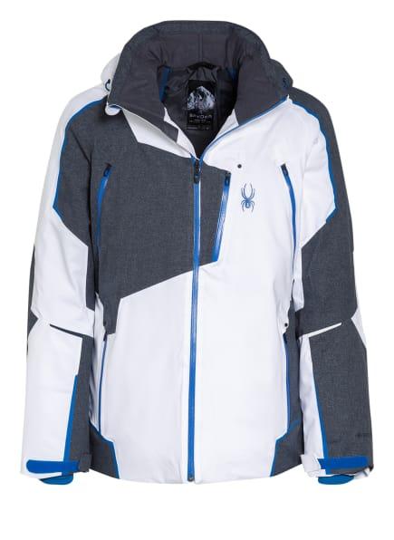 SPYDER Skijacke LEADER, Farbe: WEISS/ GRAU (Bild 1)