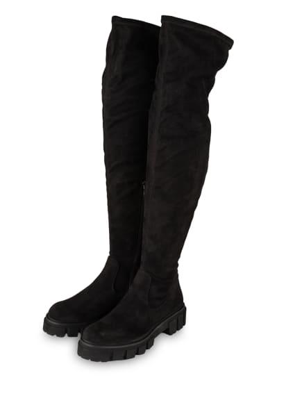 KENNEL & SCHMENGER Overknee-Stiefel VIDA, Farbe: SCHWARZ (Bild 1)