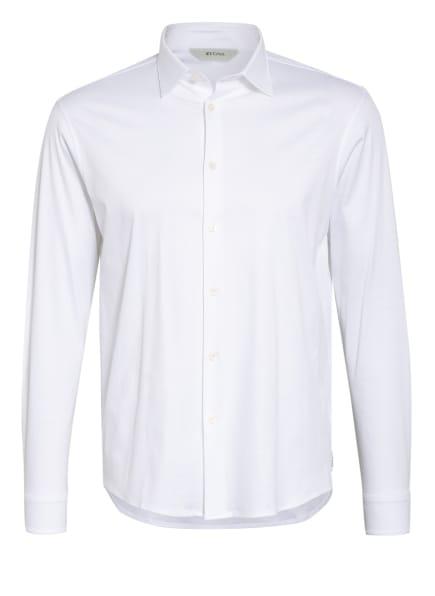 ZZegna Jerseyhemd Slim Fit, Farbe: WEISS (Bild 1)