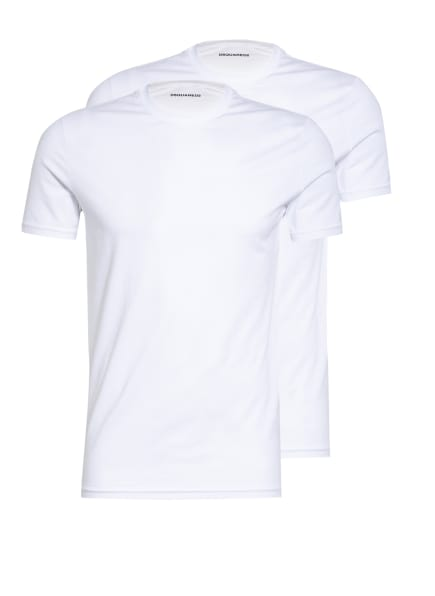 DSQUARED2 2er-Pack T-Shirts , Farbe: WEISS (Bild 1)
