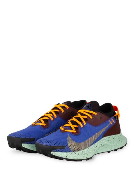 Nike Trailrunning-Schuhe PEGASUS TRAIL 2 GTX, Farbe: BLAU/ BRAUN (Bild 1)