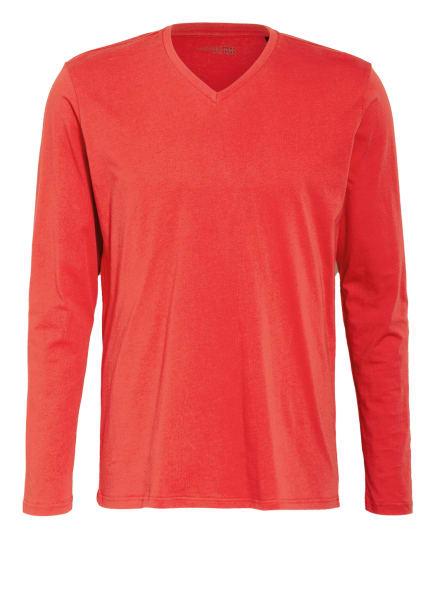 SCHIESSER Schlafshirt MIX & RELAX , Farbe: ROT (Bild 1)