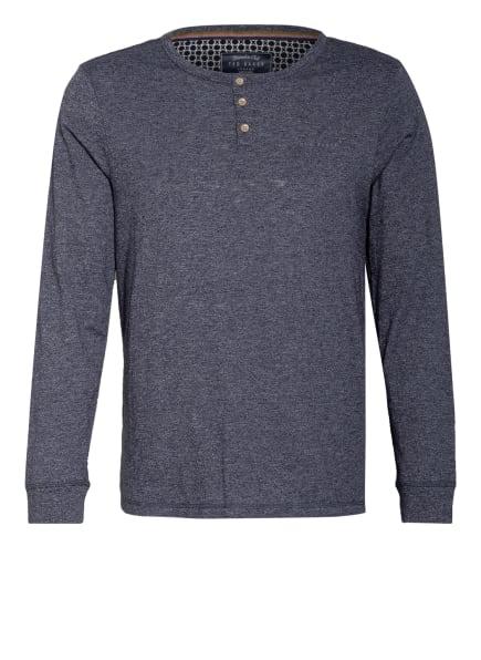 TED BAKER Lounge-Shirt, Farbe: DUNKELBLAU/ HELLGRAU (Bild 1)