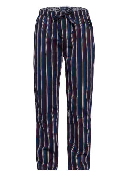 TED BAKER Lounge-Hose, Farbe: DUNKELBLAU/ BLAU/ DUNKELROT (Bild 1)