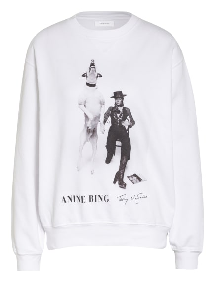 ANINE BING Sweatshirt RAMONA, Farbe: WEISS (Bild 1)