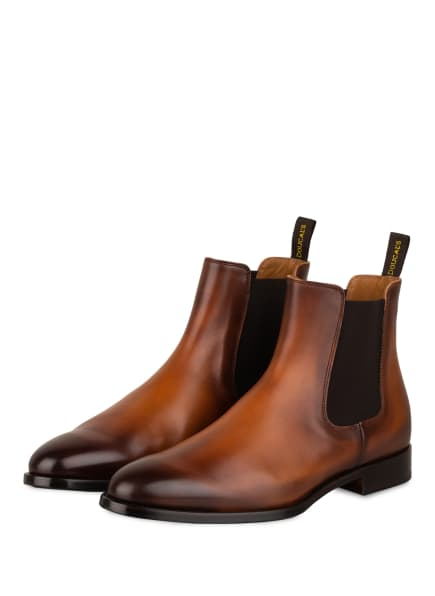 DOUCAL'S Chelsea-Boots, Farbe: BRAUN (Bild 1)