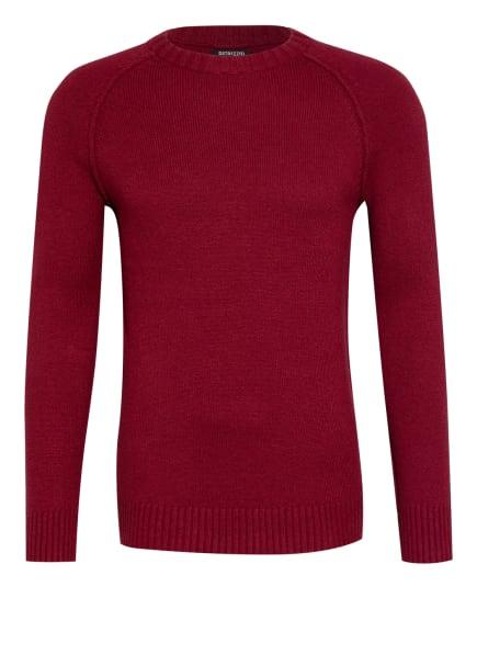 DSTREZZED Pullover, Farbe: DUNKELROT (Bild 1)