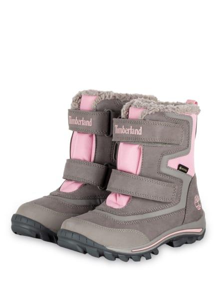 Timberland Boots CHILLBERG, Farbe: GRAU/ ROSA (Bild 1)