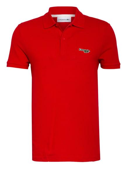 LACOSTE Piqué-Poloshirt Regular Fit, Farbe: ROT (Bild 1)