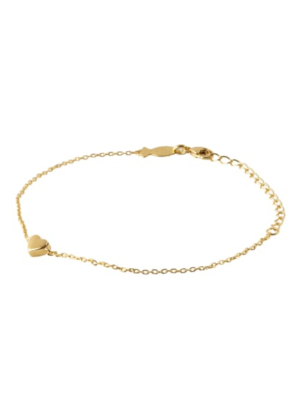 KURSHUNI Armband LOVELY, Farbe: GOLD (Bild 1)