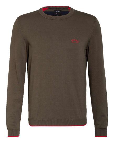 BOSS Pullover RISTON , Farbe: OLIV (Bild 1)