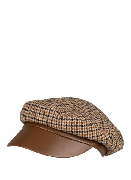 LOEVENICH Mütze, Farbe: CAMEL/ BEIGE/ SCHWARZ (Bild 1)