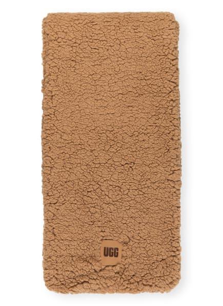 UGG Kunstfellschal, Farbe: CAMEL (Bild 1)