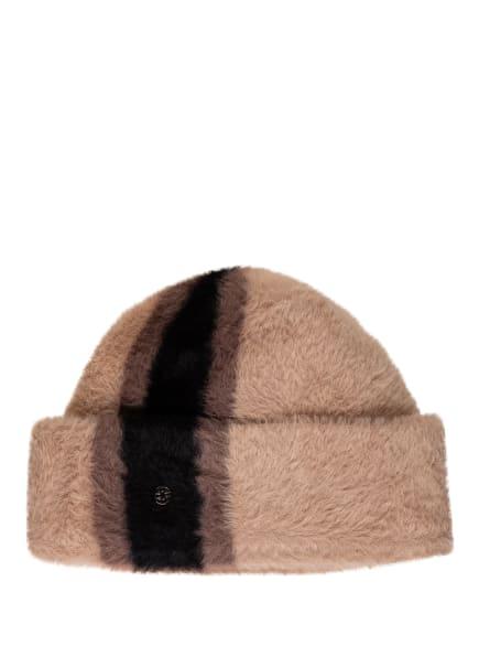 LOEVENICH Mütze aus Kunstfell , Farbe: 0126 CAMEL (Bild 1)