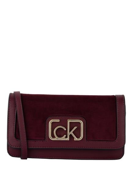 Calvin Klein Clutch , Farbe: DUNKELROT (Bild 1)