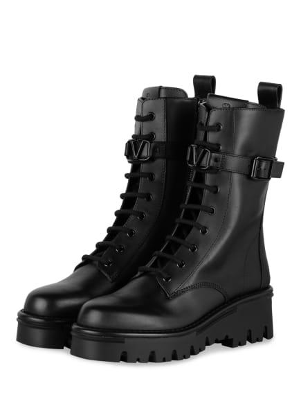 VALENTINO GARAVANI Biker Boots, Farbe: 0NO NERO (Bild 1)