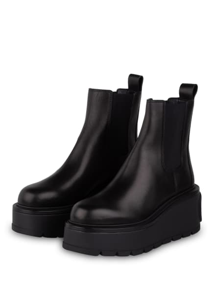 VALENTINO GARAVANI Plateau-Boots, Farbe: SCHWARZ (Bild 1)
