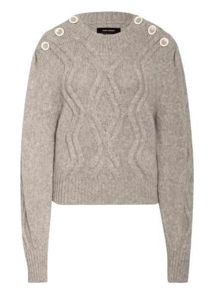 ISABEL MARANT Alpaka-Pullover DEVLYN, Farbe: HELLGRAU (Bild 1)
