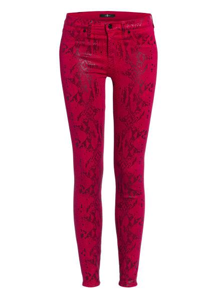 7 for all mankind Skinny Jeans THE SKINNY , Farbe: PINK/ SCHWARZ (Bild 1)