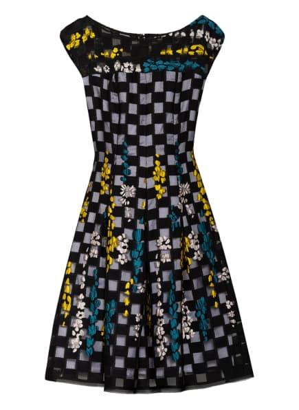 TALBOT RUNHOF Kleid , Farbe: SCHWARZ/ GELB/ PETROL (Bild 1)