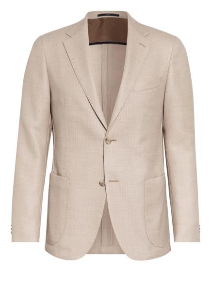 EDUARD DRESSLER Sakko SAWYER Shaped Fit, Farbe: BEIGE/ WEISS (Bild 1)