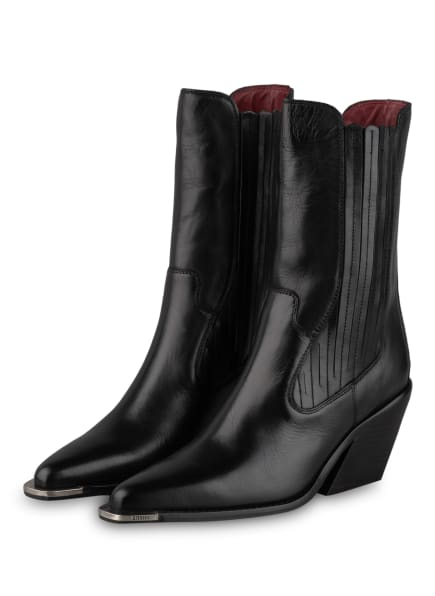 BRONX Cowboy Boots, Farbe: SCHWARZ (Bild 1)