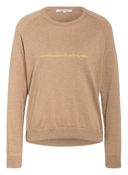 UNDERPROTECTION Lounge-Shirt KIMMIE , Farbe: CAMEL (Bild 1)