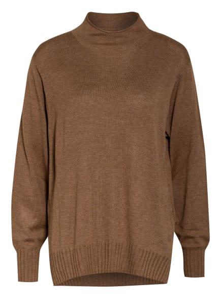 rich&royal Pullover, Farbe: DUNKELBRAUN (Bild 1)