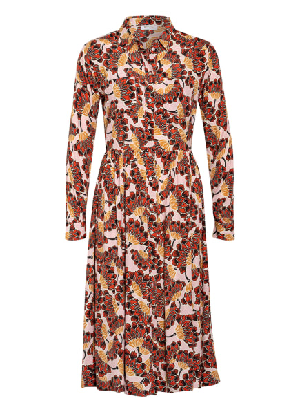 rich&royal Hemdblusenkleid, Farbe: HELLROSA/ HELLROT/ BEIGE (Bild 1)