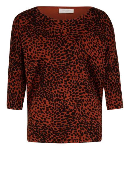 FREEQUENT Pullover mit 3/4-Arm, Farbe: BRAUN/ SCHWARZ (Bild 1)