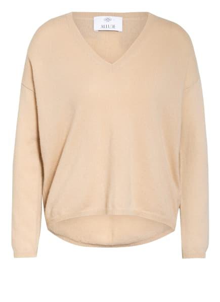ALLUDE Cashmere-Pullover, Farbe: HELLBEIGE (Bild 1)