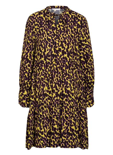 ROBERT FRIEDMAN Kleid MARCELA, Farbe: SCHWARZ/ GELB/ PINK (Bild 1)