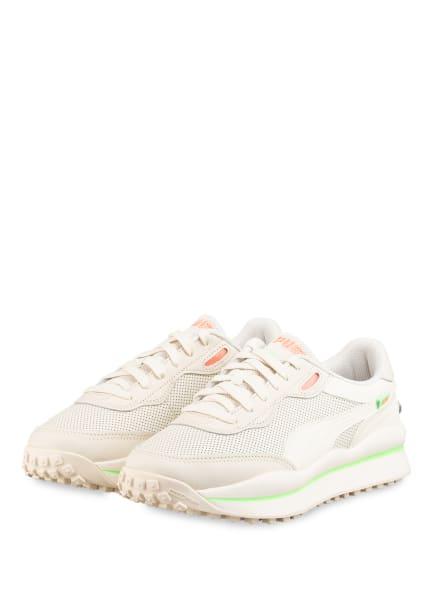 PUMA Plateau-Sneaker STYLE RIDER, Farbe: CREME (Bild 1)