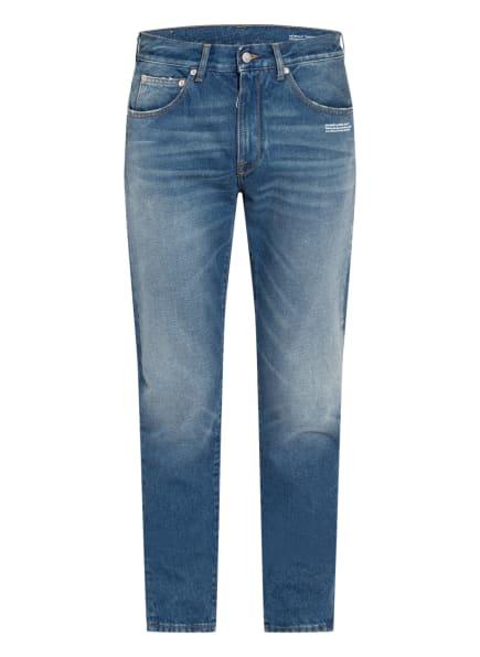Off-White Jeans Slim Fit , Farbe: MEDIUM BLUE WHITE (Bild 1)