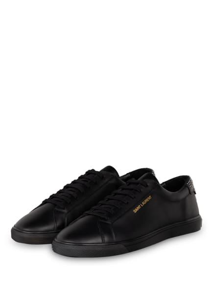 SAINT LAURENT Sneaker ANDY, Farbe: SCHWARZ (Bild 1)