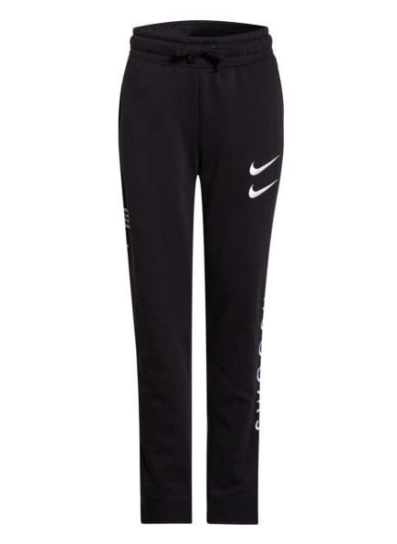 Nike Sweatpants SPORTSWEAR SWOSH, Farbe: SCHWARZ (Bild 1)