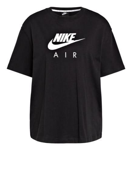 Nike T-Shirt AIR, Farbe: SCHWARZ/ WEISS (Bild 1)