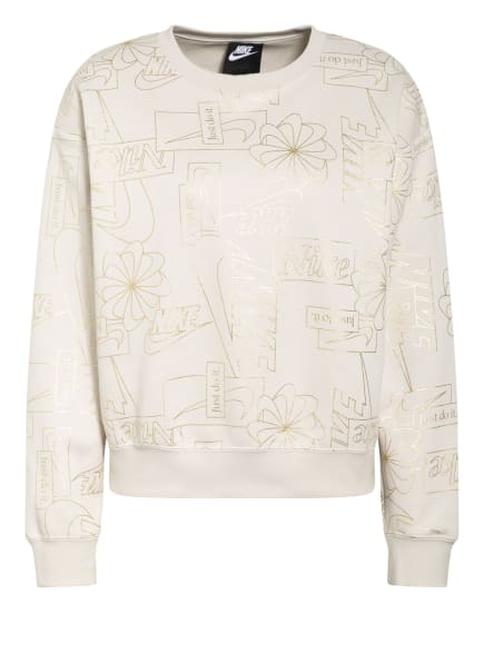 Nike Oversized-Sweatshirt ICON CLASH, Farbe: CREME/ GOLD (Bild 1)