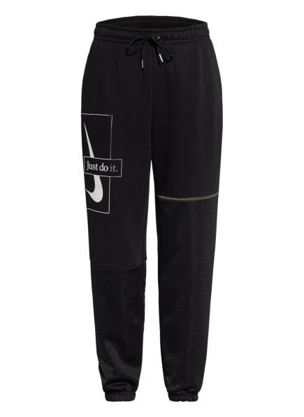 Nike Sweatpants ICON CLASH, Farbe: SCHWARZ/ SILBER (Bild 1)