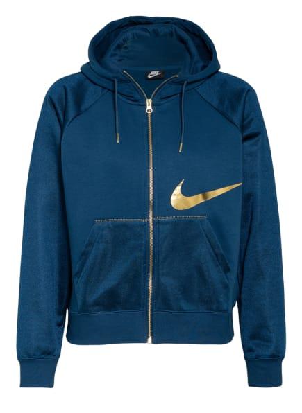 Nike Sweatjacke ICON CLASH, Farbe: BLAU/ GOLD (Bild 1)